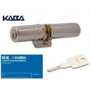 Cylindre monobloc KABA Expert-T adaptation FICHET Fortissime